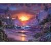 תמונה של פאזל 1500 חלקים זריחה בגן עדן רוונסבורגר