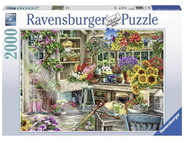 תמונה של פאזל 2000 חלקים גן עדן לגננים רוונסבורגר