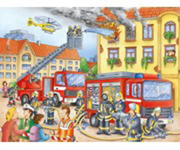 תמונה של פאזל 100 חלקים-מכבי אש בפעולה