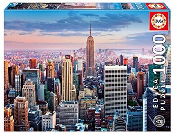 תמונה של פאזל 1000 חלקים- מנהטן ניו יורק