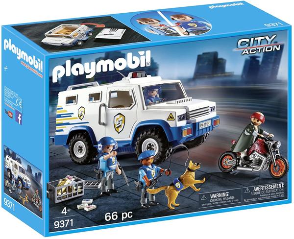 תמונה של פליימוביל רכב משטרתי להעברת כספים 9371