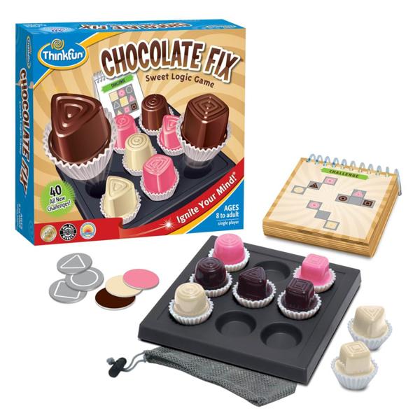 תמונה של משחק חשיבה שוקולד בריבוע