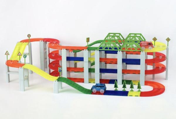 תמונה של מסלולים מגנטים 100 חלקים