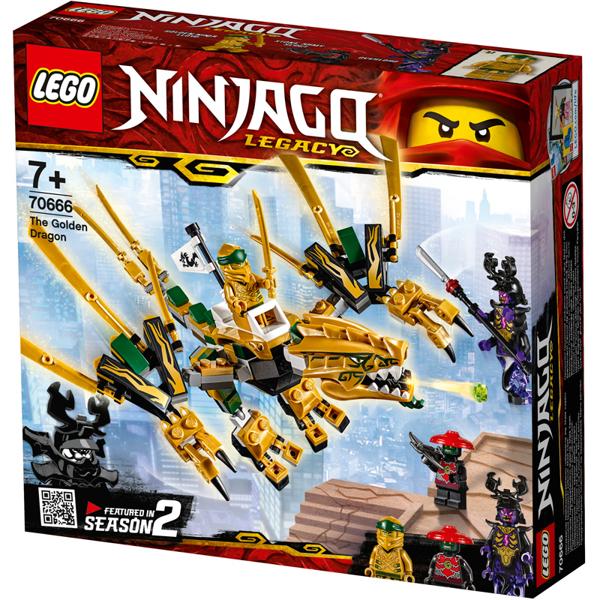 תמונה של לגו נינגהגו דרקון הזהב 70666