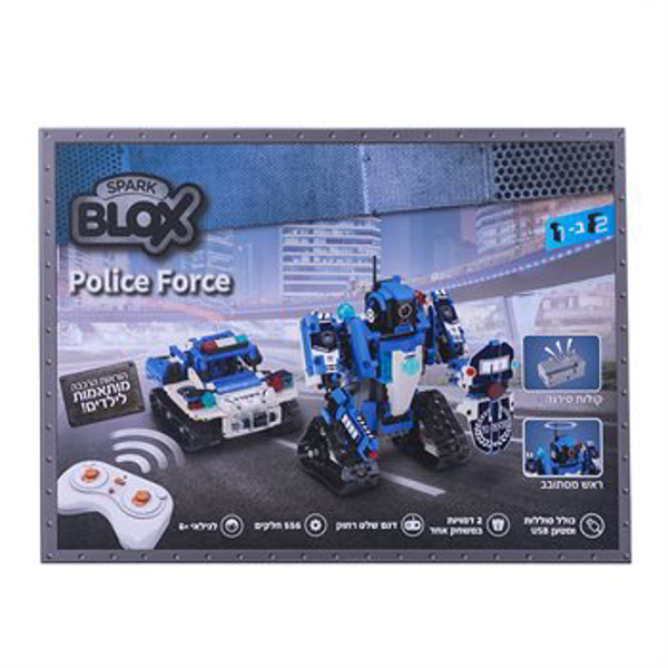 תמונה של הרכבה בלוקס טכניקס רובוט שוטר על שלט
