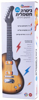 תמונה של גיטרה חשמלית דוברת עברית