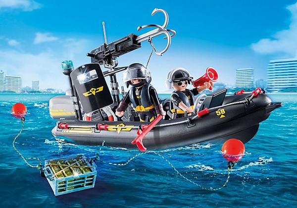 """תמונה של פליימוביל סירת משטרה ימ""""מ 9362"""
