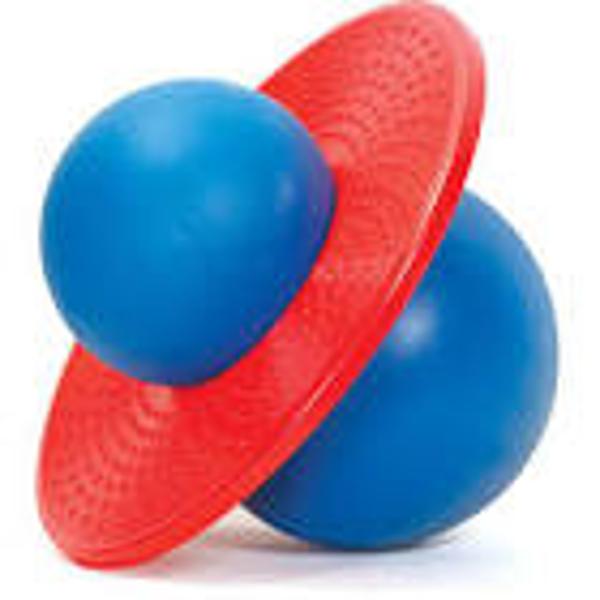 תמונה של כדור קפיצה פוגו בול עם משאבה