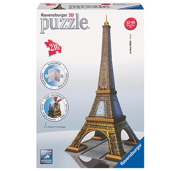 תמונה של פאזל תלת-מימד 216 חלקים האייפל פריז