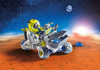 תמונה של פליימוביל אסטרונאוט וטרקטורון במאדים 9491