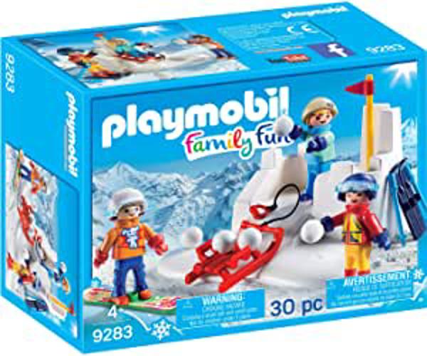 תמונה של פליימוביל מלחמת שלג 9283