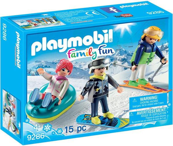 תמונה של פליימוביל כיף משפחתי בשלג 9286