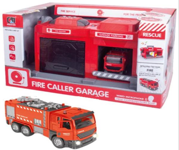 תמונה של תחנת כיבוי אש כולל מכשיר קשר