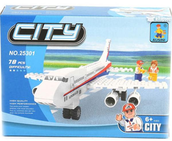 תמונה של משחק הרכבה תואם לגו מטוס