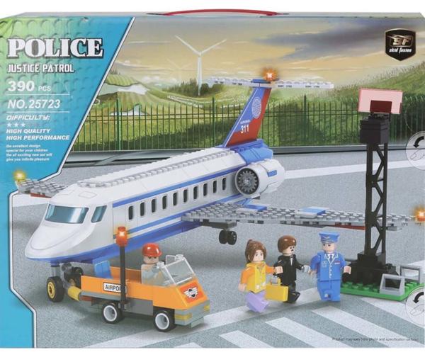 תמונה של משחק הרכבה תואם לגו מטוס ענק