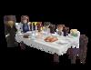 תמונה של פיקולה סיטה שולחן שבת תואם פליימוביל יהודי