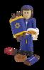 תמונה של פיקולה סיטה ילד וספר תורה תואם פליימוביל יהודי