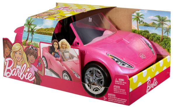 תמונה של בובה ברבי מכונית זוגית