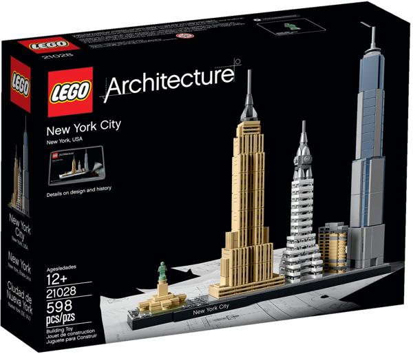 תמונה של לגו ארכיטקטורה ניו יורק 21028