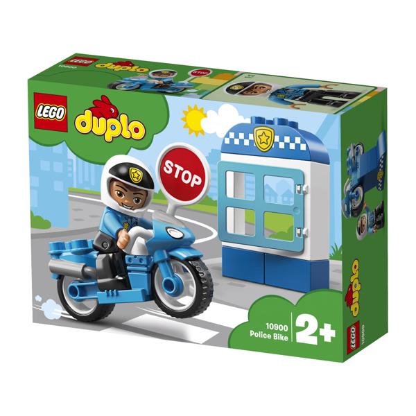 תמונה של לגו דופלו אופנוע משטרה 10900