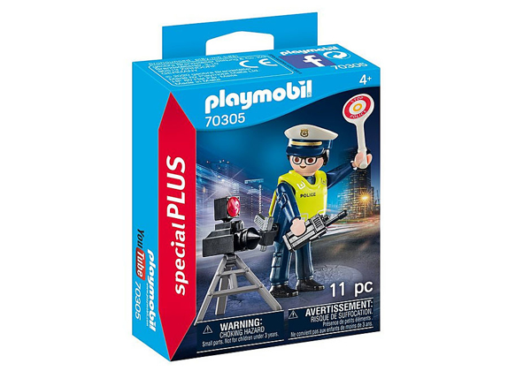 תמונה של פליימוביל ספיישל שוטר עם מכמונת מהירות 70305