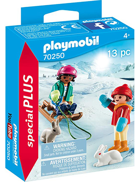 תמונה של פליימוביל ספיישל ילדים על מזחלת שלג 70250