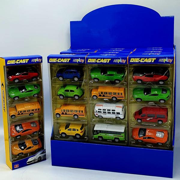 תמונה של 5 מכוניות במארז
