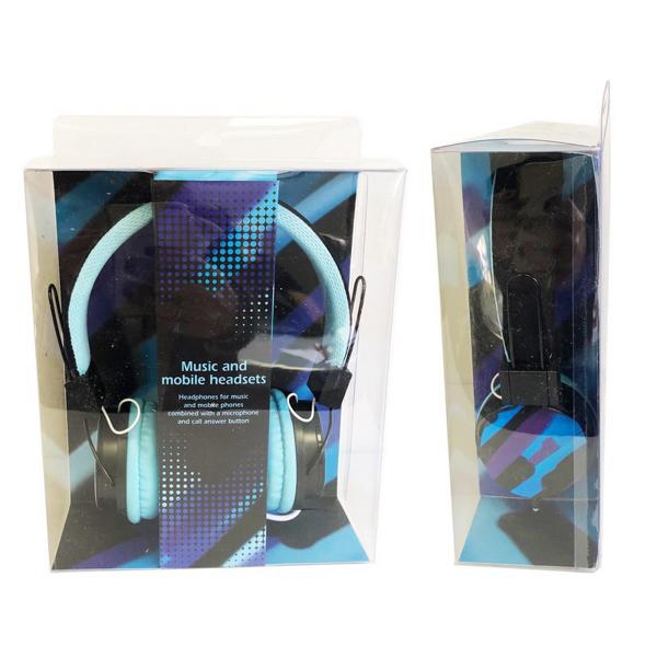 תמונה של אוזניות קשת כחולות