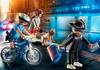 תמונה של פליימוביל מרדף משטרתי קצין סיור על אופניים וכייס 70573