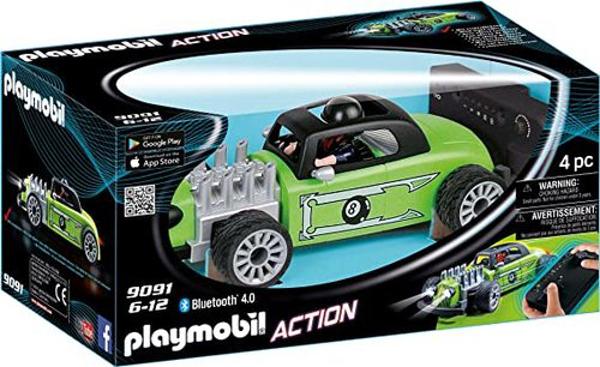 תמונה של פליימוביל מכונית מירוץ רוקנרול עם שלט 9091