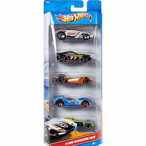 תמונה של מארז 5 מכוניות הוט ווילס