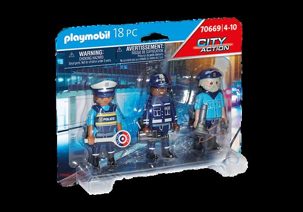 תמונה של פליימוביל בליסטר דמויות משטרה 70669