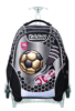 תמונה של ילקוט X-BAG  משחק כדורגל שחור קל גב -גב