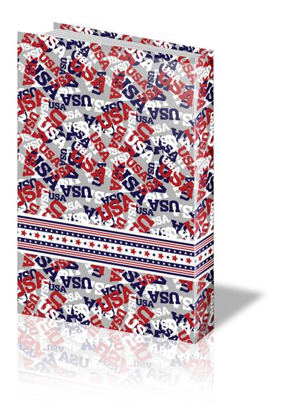 תמונה של נייר עטיפה דגם אמריקה