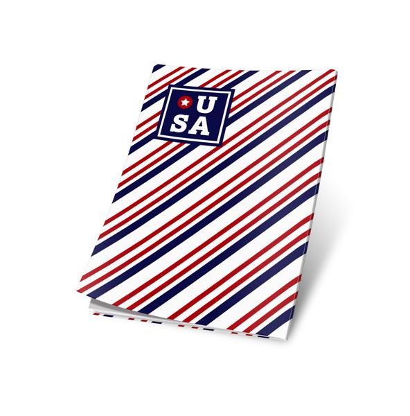 תמונה של עטיפות למחברת דגם אמריקה