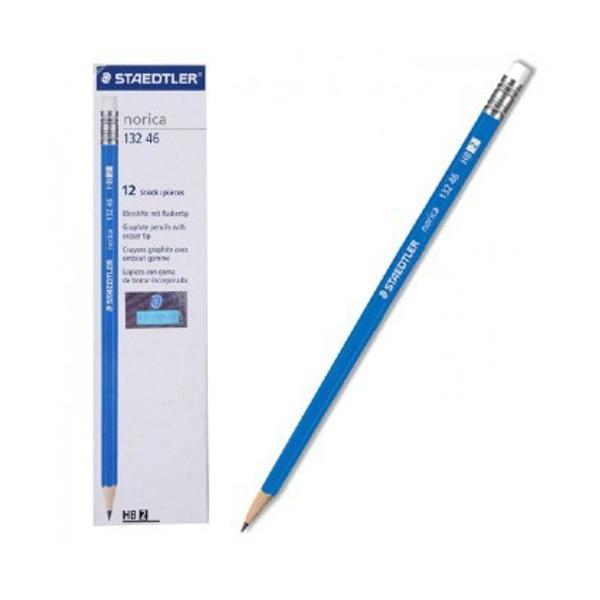תמונה של מארז 12 עפרונות סטדלר עם מחק