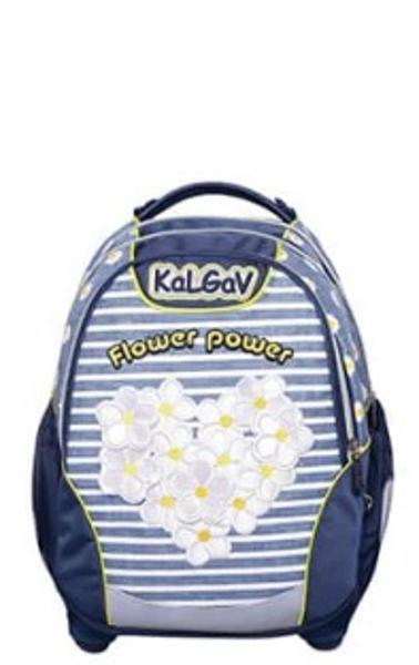 תמונה של ילקוט X-BAG פרחים ג'ינס קל גב