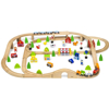 תמונה של סט רכבת ענק עץ 90 חלקים ויגה